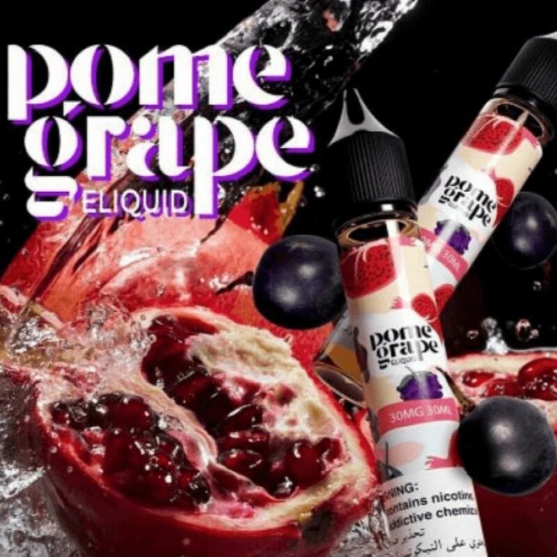 Pome Grape Eliquid Salt Nicotine  رمان وعنب نيكوتين ملحي