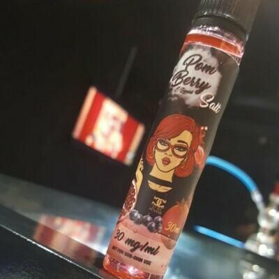 Pom Berry salt nicotine بوم بيري رمان وتوت نيكوتين ملحي