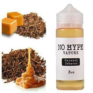 No Hype - Caramel Tobacco نو هايب كاراميل وتوباكو