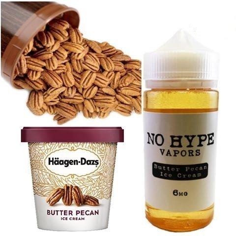 No Hype - Butter Pecan Ice-cream نو هايب ايسكريم مع جوز البيكان والكريمة