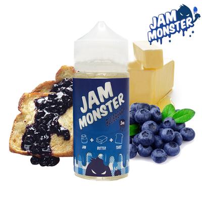 Jam Monsters - BlueBerry جام مونستر توت ازرق