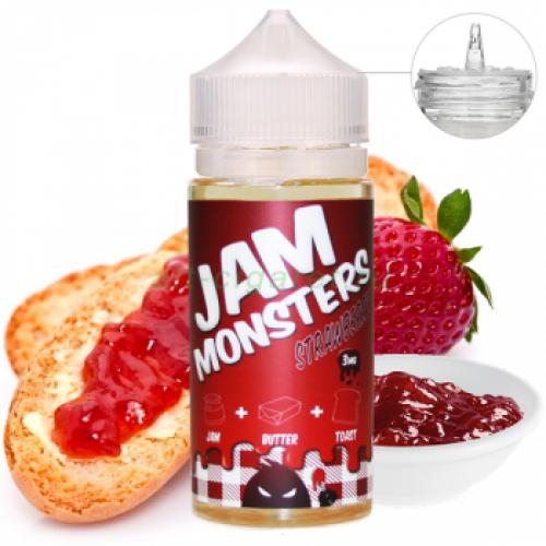 Jam Monsters - StrawBerry جام مونستر فراولة
