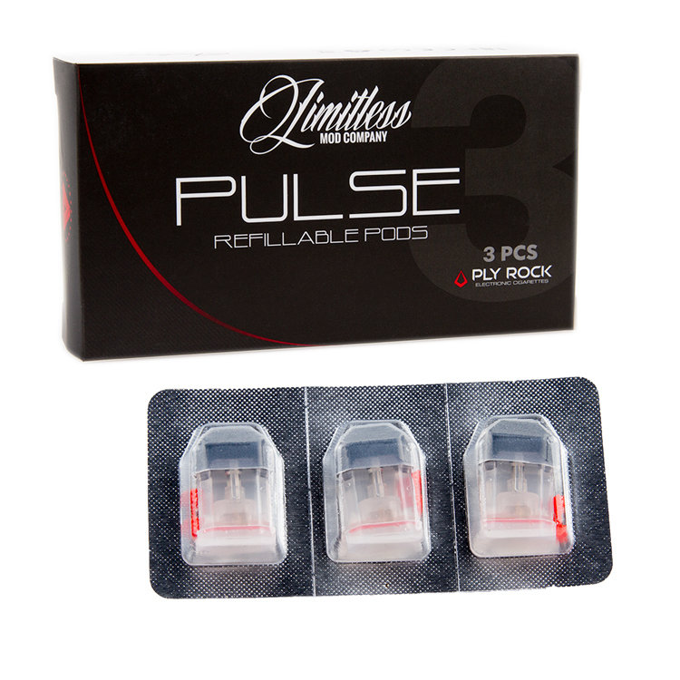 Limitless Pulse Replacement Pods (3pcs/pack)