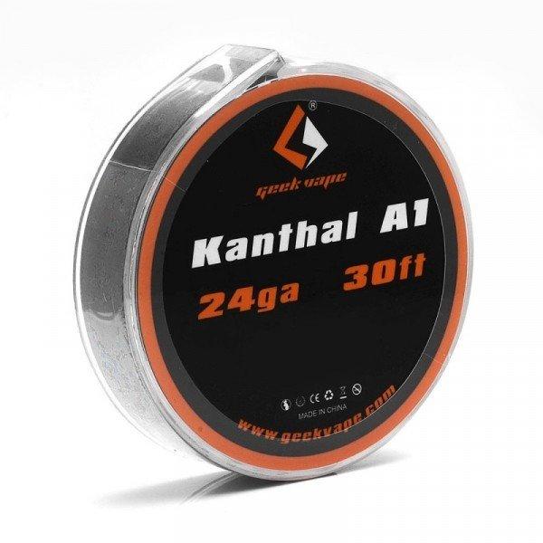 Geekvape - Kanthal A1 wire 24ga. بكرة أسلاك كانثال من جيك فيب