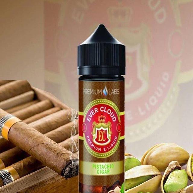 Ever Cloud - Pistachio Cigar نكهة السيجار الكوبي مع الفستق