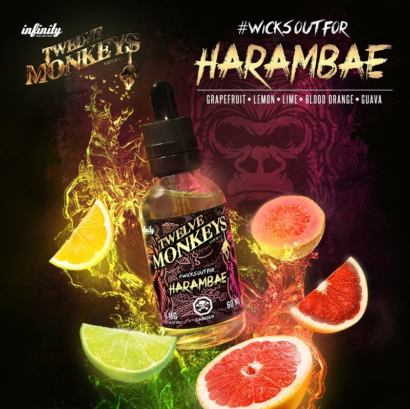 TWELVE MONKEYS - Harambe Citrus Juice تويلف مونكيز عصير حمضيات