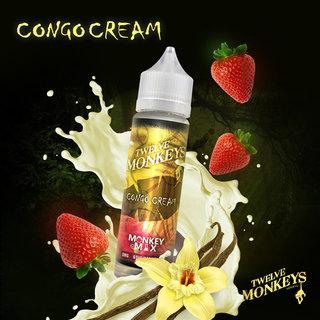 TWELVE MONKEYS - Congo Cream Strawberry Vanilla Cream تويلف مونكيز كريمة الفراولة والفانيلا