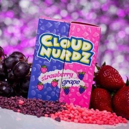 Cloud Nurdz -  Grape Strawberry كلاود نيردز فراولة وعنب