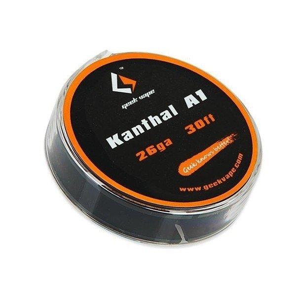 Geekvape - Kanthal A1 wire 26ga. بكرة أسلاك كانثال من جيك فيب