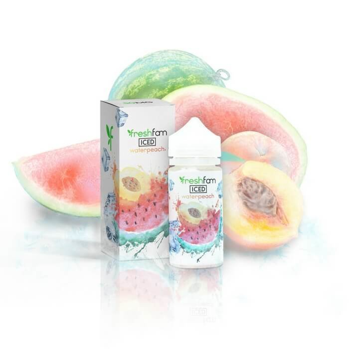 FreshFam waterpeach Iced فريش فام بطيخ مع دراق بارد