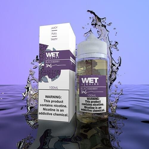 Wet Liquids Blackberry ويت ليكويد توت أسود