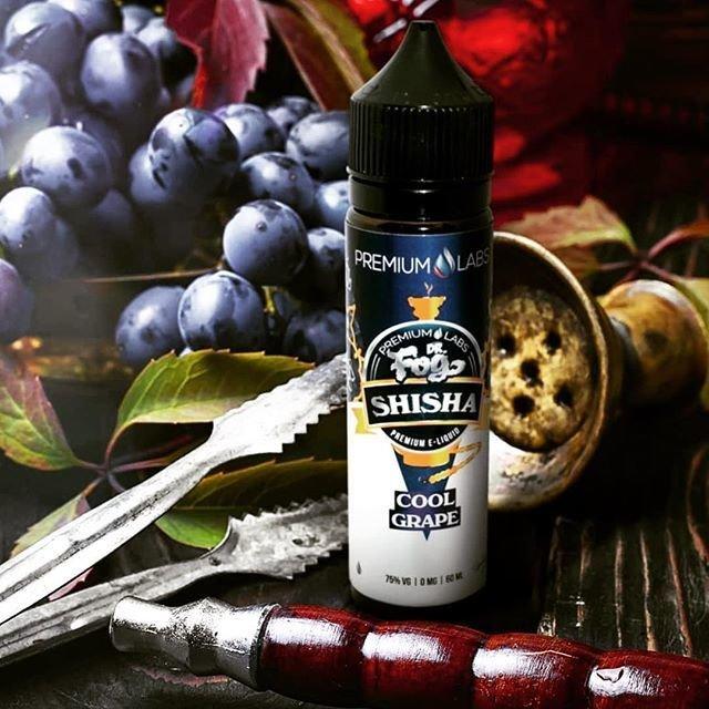 Dr. Fog Shisha Cool Grape  - دوكتور فوج عنب و نعناع