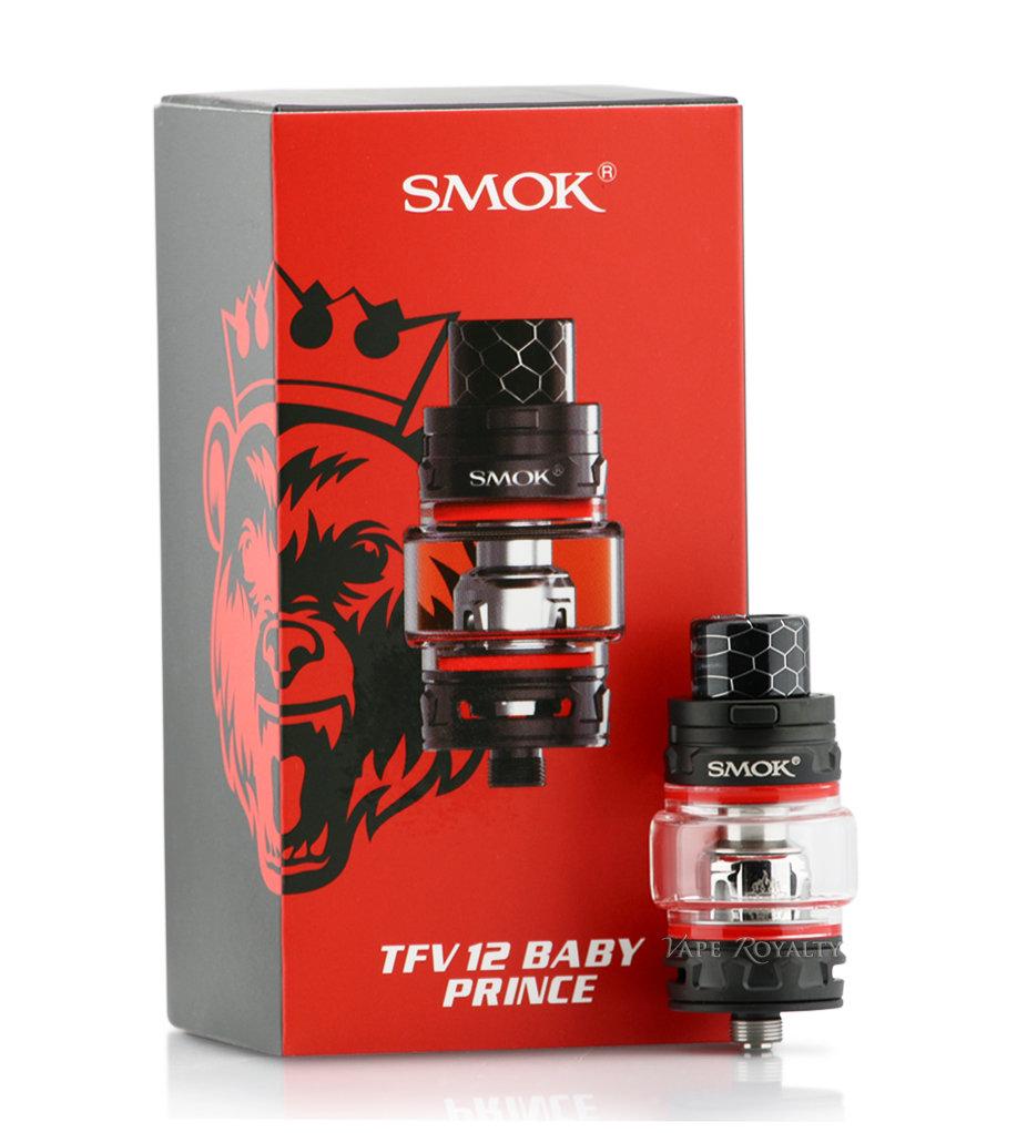 Smok TFV12 Prince Baby Tank 4.5ml تانك برينس بيبي من سموك