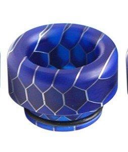 Blue Resin Drip Tip دريب تيب أزرق مقاس 810