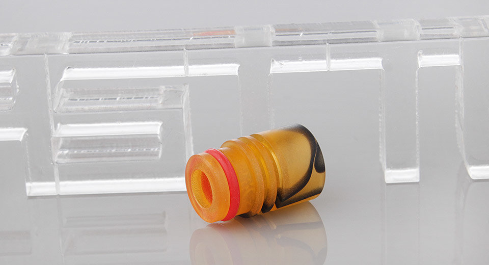 Yellow Resin Drip Tip دريب تيب أصفر مقاس 510