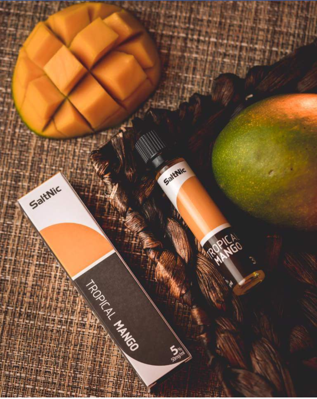 VGOD/SaltNic - Tropical Mango في جاد سولت نيكوتين مانجو استوائية
