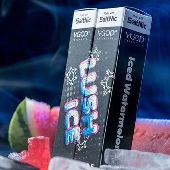 VGOD/SaltNic - LushIce في جاد سولت نيكوتين بطيخ بارد