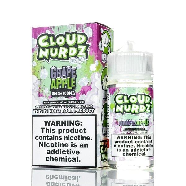 Cloud Nurdz -  Grapes Apple Iced كلاود  نيردز عنب وتفاح بارد