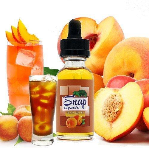 Snap Peach Iced Tea - نكهة الشاي المثلج بالخوخ من سناب
