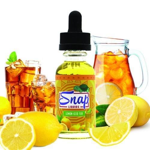 Snap Lemon Iced Tea - نكهة الشاي المثلج بالليمون من سناب