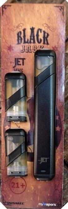 MyJet Pod System Black Jack 50mg جهاز ماي جيت سحبة سيجارة بنكهة التوباكو