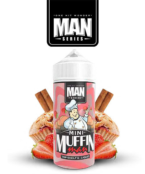 Mini Muffin man by One Hit Wonder - ميني مافن مان مافن كيك بالفراولة والقرفة من ون هت ووندر