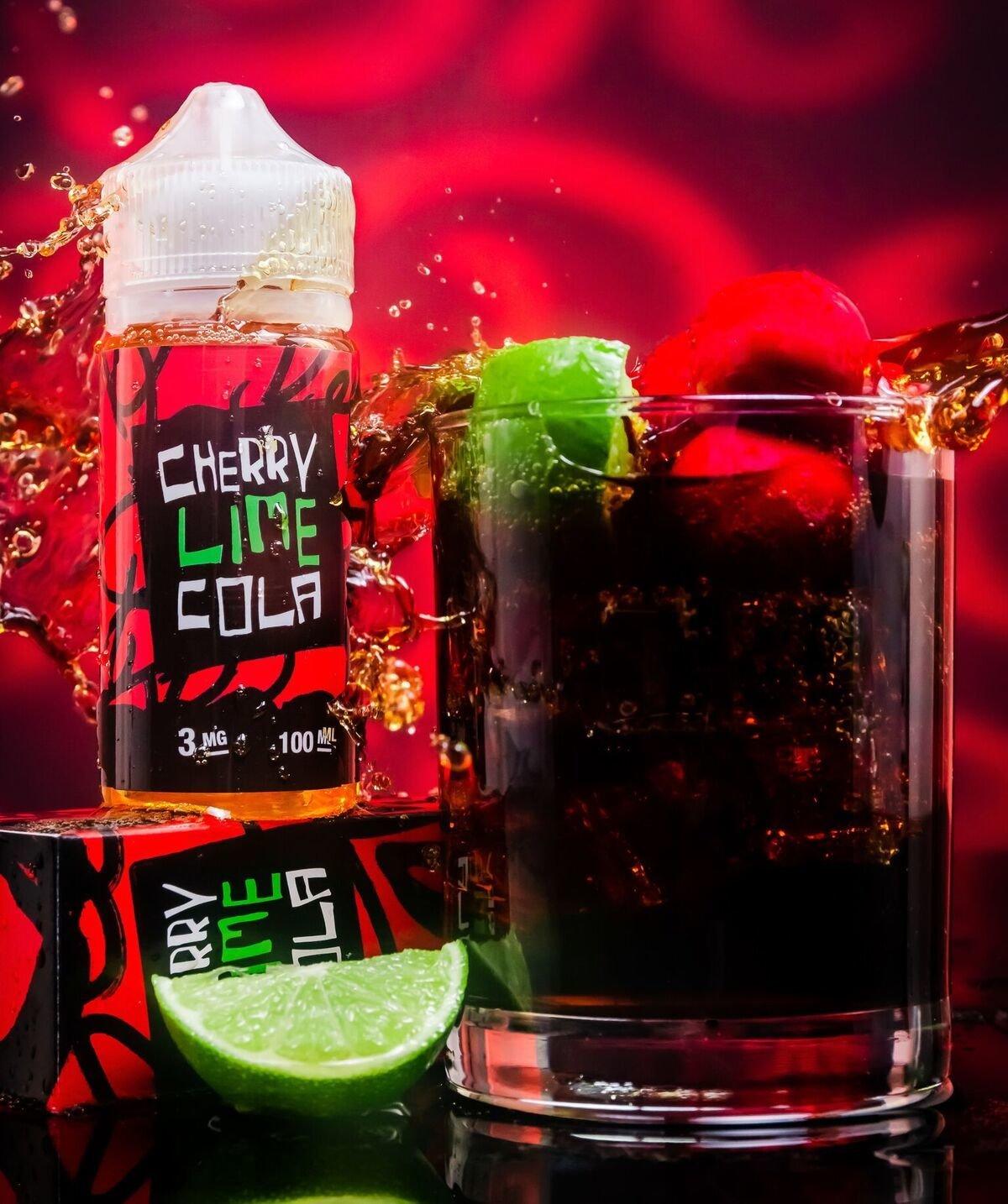 Cherry Lime Cola نكهة المشروبات الغازية كرز بالليمون