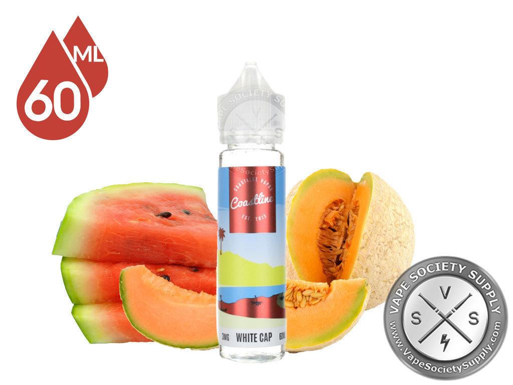 Coastline Vapor White Cap Melon Mix  كوستلاين فيبر بطيخ وشمام