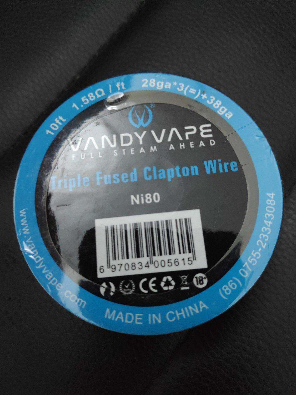 Vandy Vape -  Fused Clapton N80 أسلاك فيوزد كلابتون من فاندي فيب