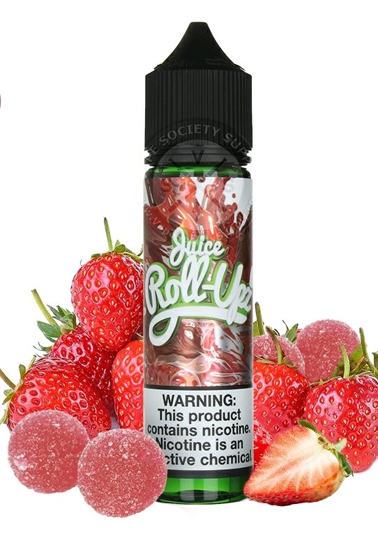 Roll Upz- Strawberry رول ابز فراولة