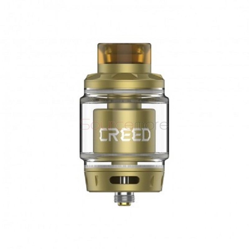 Geekvape Creed RTA Gold جيك فيب كريد ار تي اي ذهبي