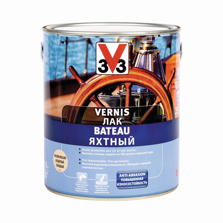 Яхтный лак V33 2,5 л