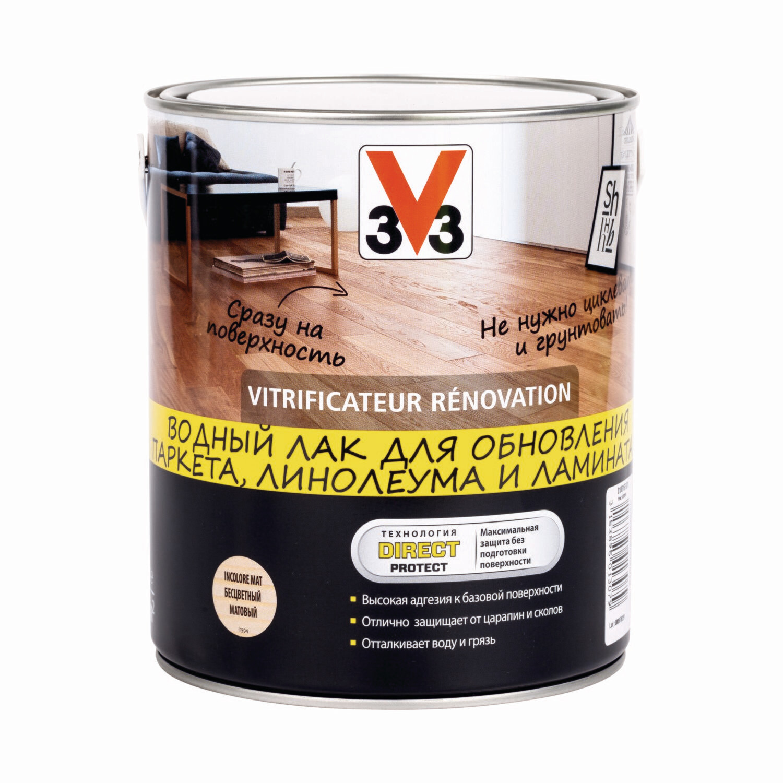 Водный лак V33 RENOVATION 2,5 л