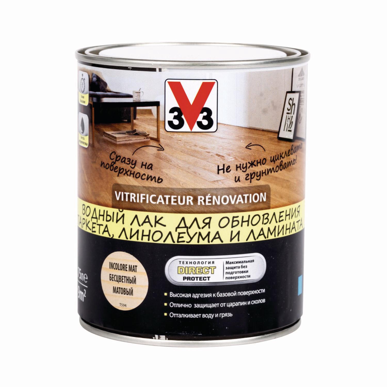 Водный лак V33 RENOVATION 0,75 л