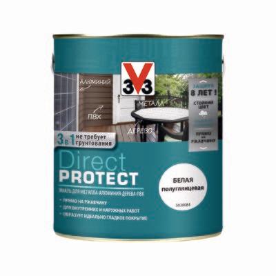 Эмаль V33 DIRECT PROTECT 2,5 л