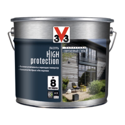 Лазурь Модерн V33 High Protection 9 л (теперь Climate Extreme)