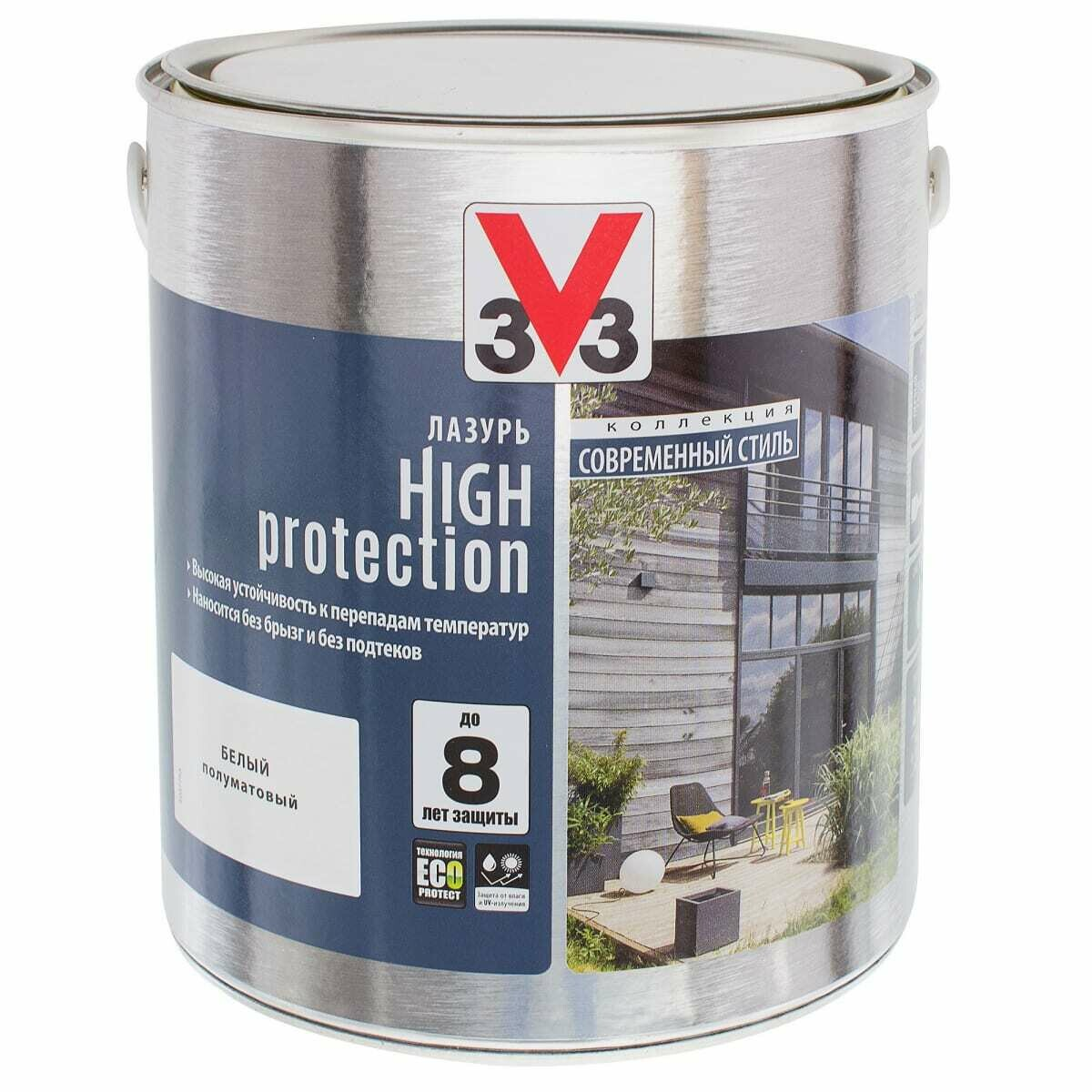 Лазурь Модерн V33 High Protection 2.5 л