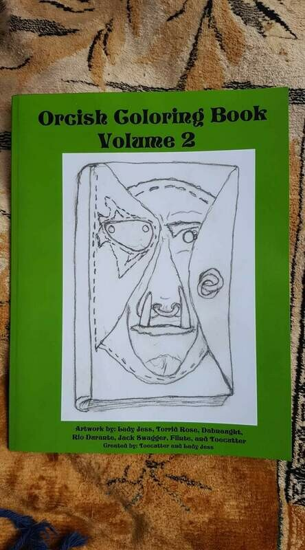 Orcish Coloring Book Volume 2