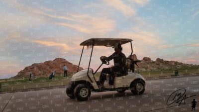 Cruising Golf Cart