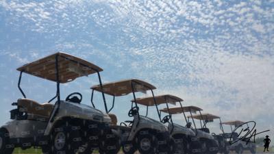 Golf Cart Row