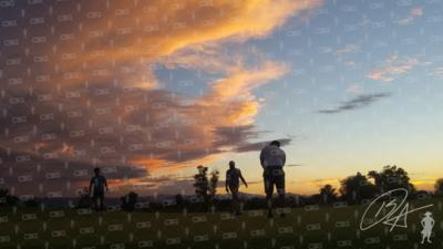 Sunset Putt