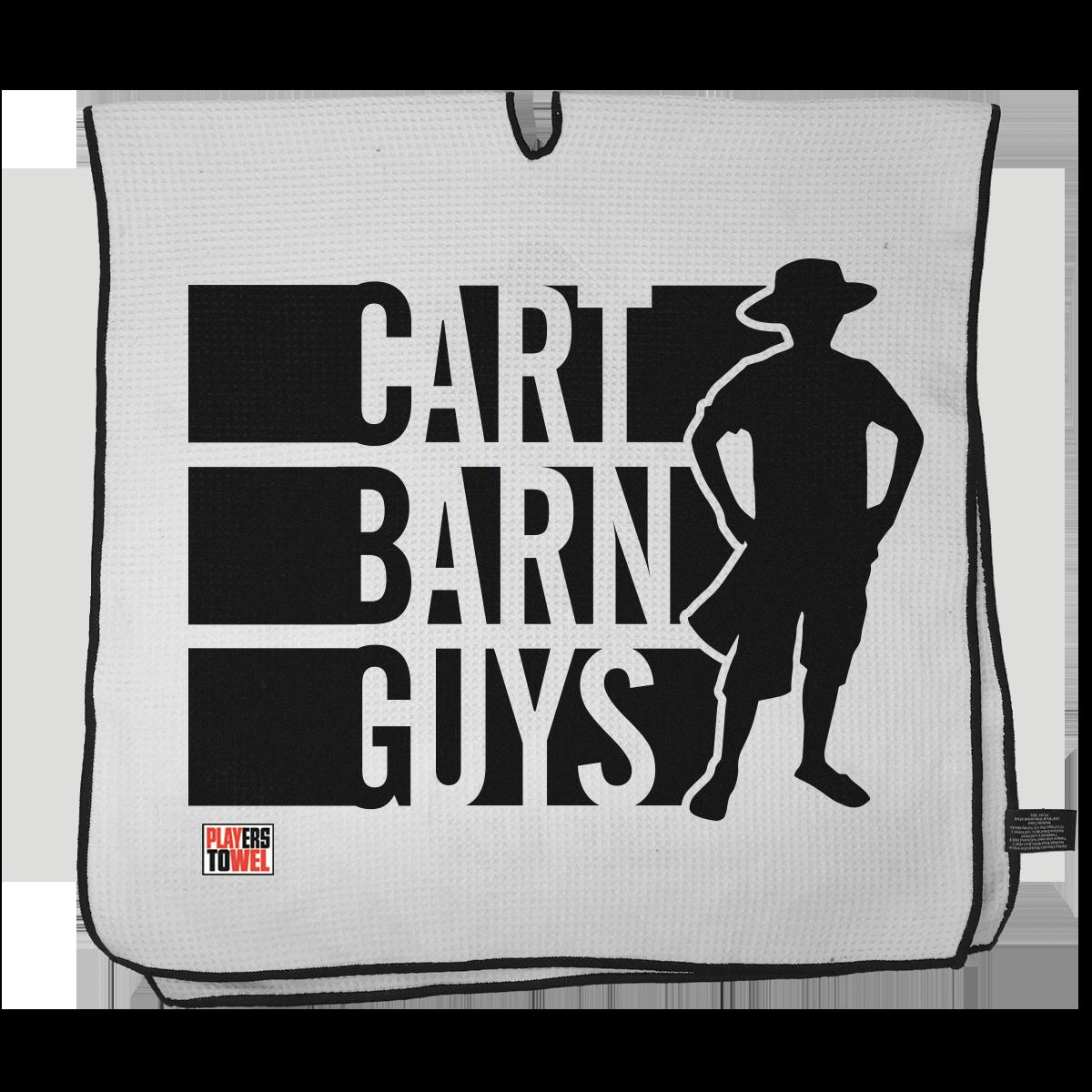 Cart Barn Guy Player Towel