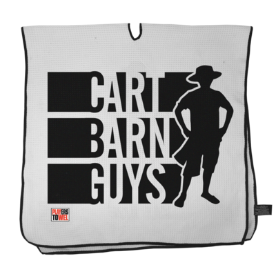 Cart Barn Guy Player Towel