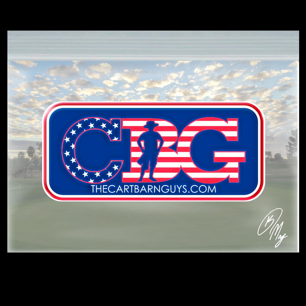 CBG America Domed Decal