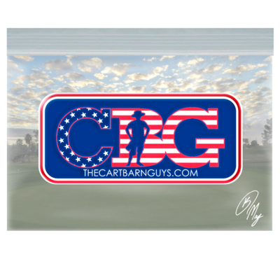 CBG America Domed Decal
