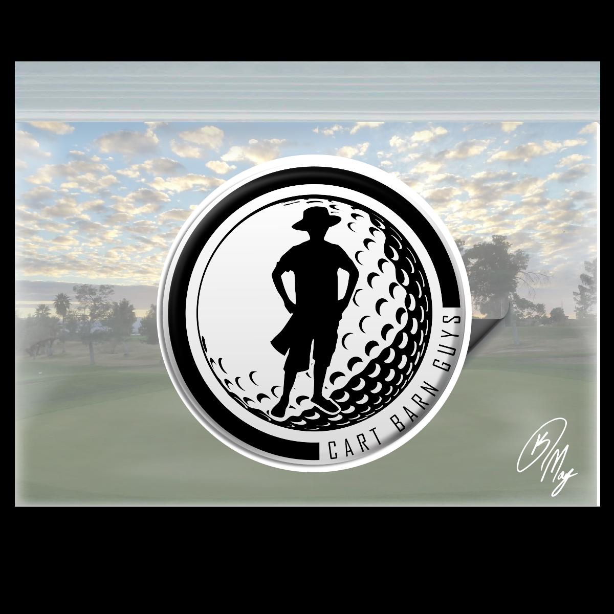 CBG Logo Ball Domed Decal