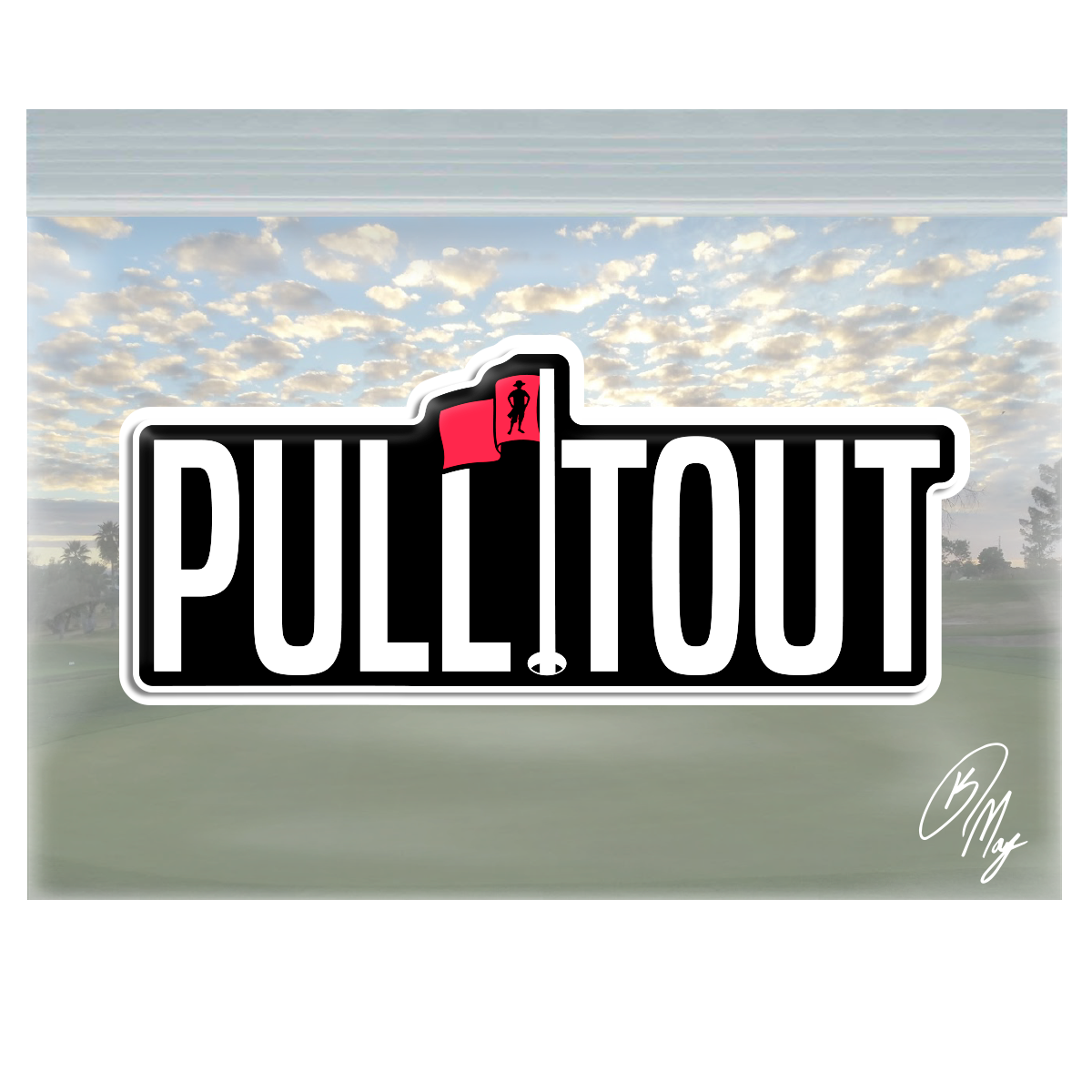 Pull It Out Domed Decal