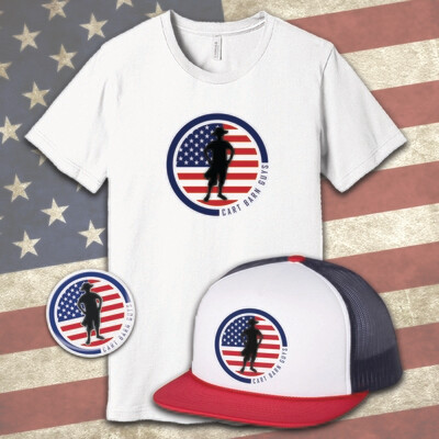 2019 USA Combo Pack (Hat, Shirt and Decal)