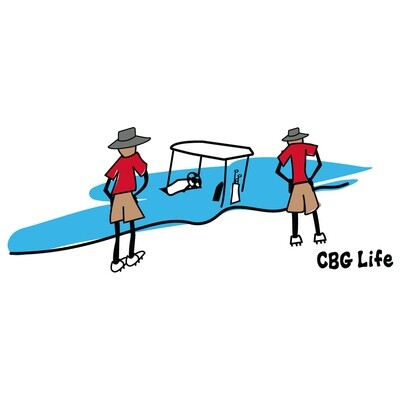 CBG Life Cart in Water