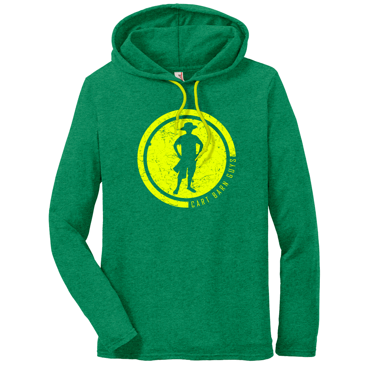 2019 Green Hooded Sweatshirt
